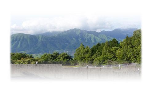 南阿蘇カフェ 緑の小箱 阿蘇山を一望できるロケーション